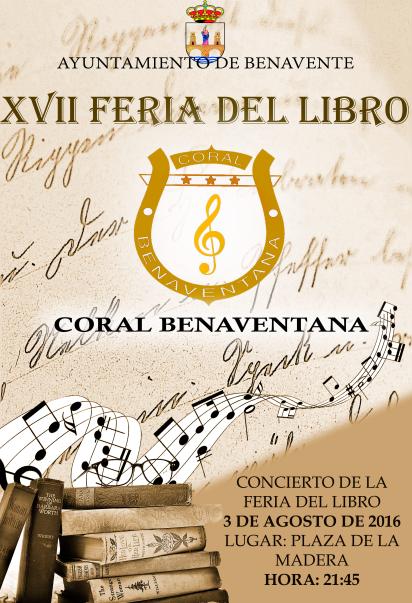 Concierto Feria del libro 2016